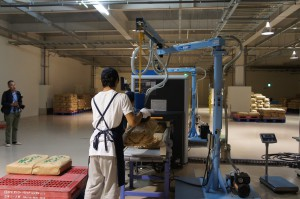 ベルトコンベア式検査機器によるスクリーニング検査
