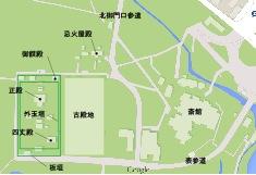 図1 外宮の宮域図