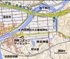 図1 神田付近の地形(国土地理院に加筆)