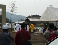写真2 御園祭における神事(2015年3月21日)