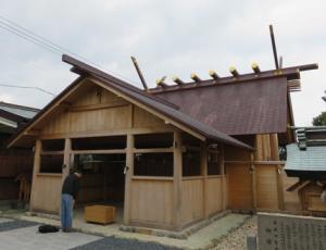 写真4 篠島神明神社(2016年3月6日)
