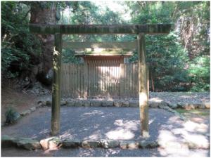 写真1 伊我理神社と井中神社(2015年9月29日)