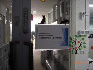 写真1. 研究室入口